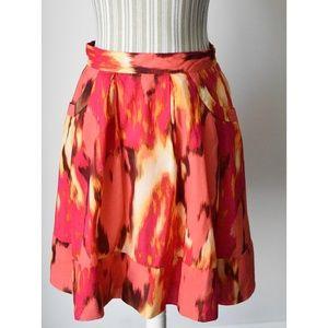 Calvin Klein Painted Skirt w/ Pockets
